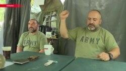 Грузинские военные в Украине вспоминают события 2008 года