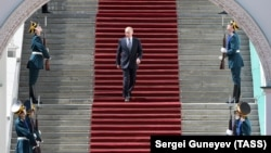 Церемония инаугурации президента России Владимира Путина 7 мая 2018 года
