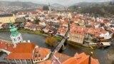 CZECH REPUBLIC --- Cesky Krumlov COVID-19 Tourism MYSTAY