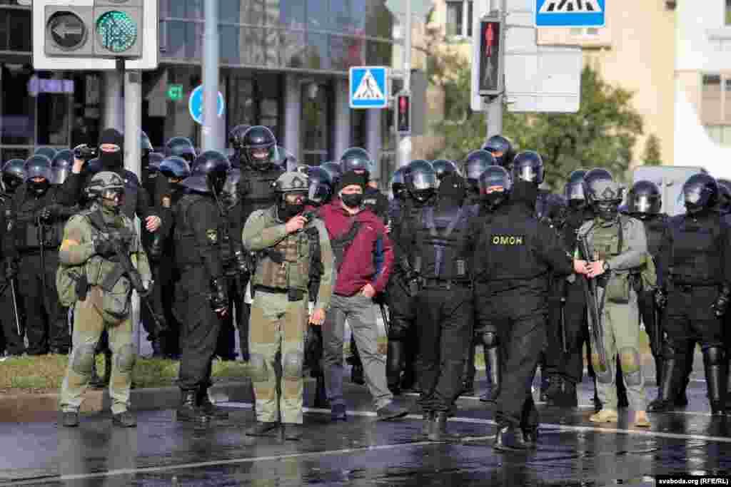 Силовики в Минске