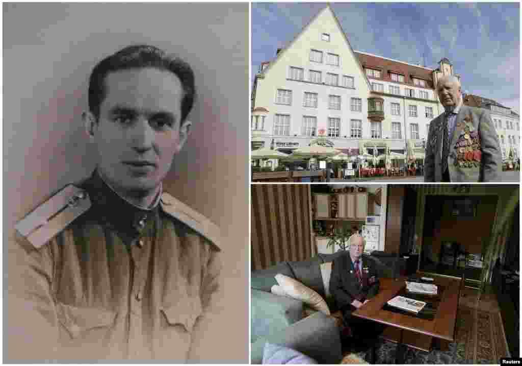 Карл Раммус, 93. Эстонский офицер, служивший в разведывательной роте советской пехоты. На момент окончания войны был на территории Латвии