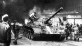 21 августа 1968 года советские танки вошли в Чехословакию