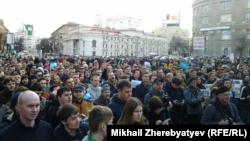 Акция протеста в Воронеже