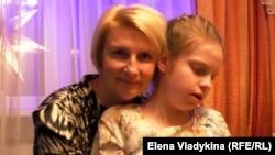 Ирина Андреева с дочерью Аней