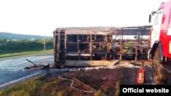 Cгоревший автобус