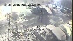 Опубликовано видео нападения на актера «Театра.doc». В его избиении обвиняют Павленского