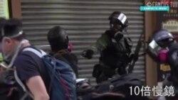 Полиция стреляет в протестующего в Гонконге 1 октября