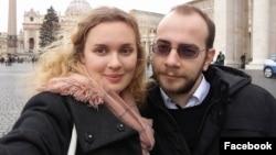 "Екатерина Андреева и Игорь Ильяш – журналисты телеканала ""Белсат"""