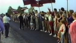 """Как акция """"Балтийский путь"""" стала началом независимости трех стран"""