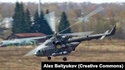 Вертолет Ми-8 ВВС России