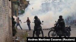 Столкновения на границе с Колумбией