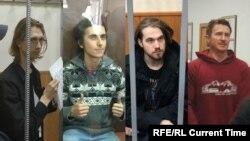 Андрей Баршай, Владимир Емельянов, Максим Мартинцов и Егор Лесных