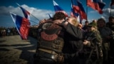 "Crimea, Sevastopol - celebrating the day of ""joining"" the Crimea to Russia, 18Mar2017"