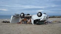 От урагана в Греции погибли туристы из России, Чехии и Румынии