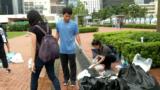 Демонстранты в Гонконге снова вышли на улицы – чтобы убрать за собой мусор