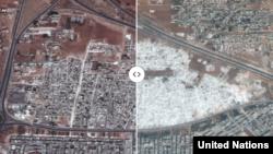 Было – стало: 5 лет войны в Сирии на спутниковых фото