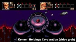 Тот самый босс из игры Contra: Hard Corps