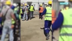 Беспорядки в Тенгизе из-за фото ливийца с девушкой-казашкой