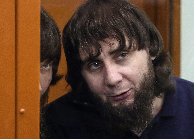 Заур Дадаев в Московском окружном военном суде. Фото: ТАСС