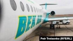 Самолет компании Bek Air. 3 ноября 2014 года