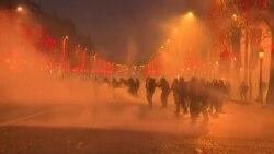 """Четвертая неделя протестов """"желтых жилетов"""" во Франции"""