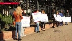 Подозреваемую в деле о пожаре в детском лагере в Одессе отпустили под домашний арест