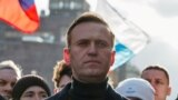 RUSSIA-POLITICS/NAVALNY / Russian opposition politician Alexei Navalny takes part in a rally in Moscow, Russia, February 29, 2020.