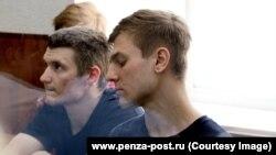 Обвиняемый Дмитрий Пчелинцев (справа). Фото предоставлено www.penza-post.ru