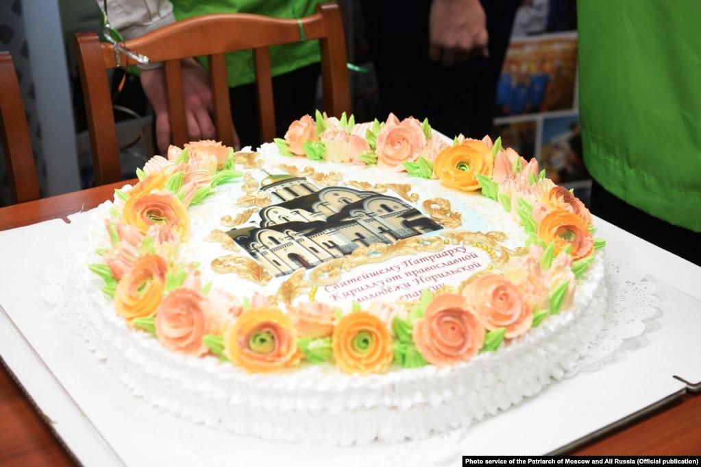 Освящение храма Новомучеников и исповедников Церкви Русской в Норильске. Фото: пресс-служба патриарха Московского и всея Руси