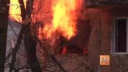 На жителей Донецкой области продолжают падать снаряды