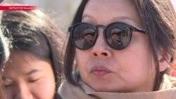 """""""Женский марш"""" в Бишкеке: как это было"""