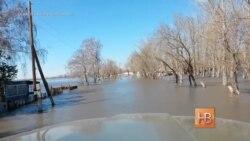 Казахстан борется с паводком