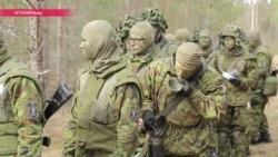Как живут и чем занимаются солдаты на базе НАТО в Эстонии? Спецрепортаж Настоящего Времени
