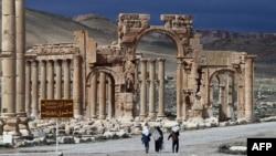 Так Пальмира выглядела в 2014 году