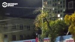 В журналиста Настоящего Времени стреляли во время беспорядков в Бишкеке