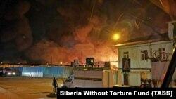 Пожар в исправительной колонии в Ангарске, 10 апреля 2020