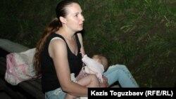 Оксана Шевчук с младшей дочерью
