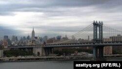 Нью-Йорк, вид на Манхэттен