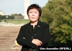 Замира Сыдыкова, бывший посол Кыргызстана в США, редактор издающейся в Кыргызстане газеты ResPublica