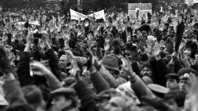 Programme: 1989: Бархатная революция
