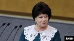 Председатель комитета Госдумы по вопросам семьи, женщин и детей Тамара Плетнева