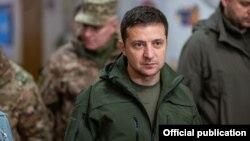 Владимир Зеленский в Золотом