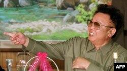 Ким Чен Ир в Пхеньяне