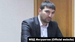 Убитый глава Главного управления по противодействию экстремизму МВД Ингушетии Ибрагим Эльджаркиев