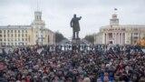 """Акция в память о погибших при пожаре в торговом центре """"Зимняя Вишня"""" в Кемерово"""