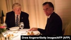 Ромни с Дональдом Трампом