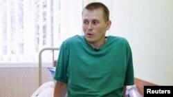 Александр Александров в госпитале