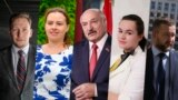 The five official candidates for Belarus' August 9, 2020 presidential elections