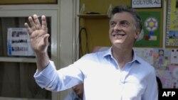 Новоизбранный президент Аргентины Маурисио Макри