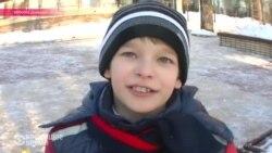 """Донецкие дети о войне: """"Я слышу """"бах"""" и все равно иду гулять"""""""